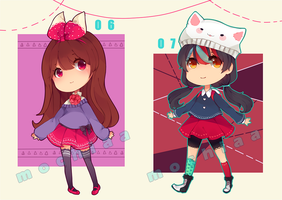 {Set Price} Adopts 6 and 7 [ CLOSED ] by Mochiaa