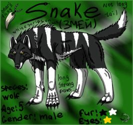 Snake by BullTerrierKa