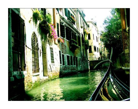Venice: Gondola by force-of-nature