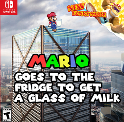 [Shitpost] - New Leaked Mario Game On Switch by edencrafty127