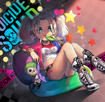 Suicide Squad - Harley Quinn by KenPan