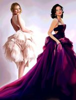 Gowns To Rule The World In by LicieOIC