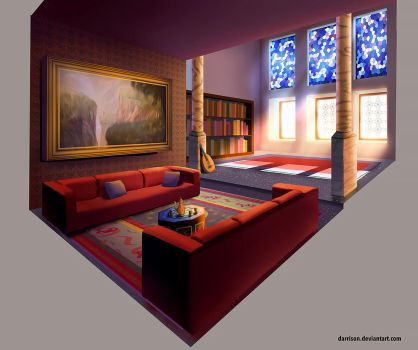 Ottoman Room by Darrison