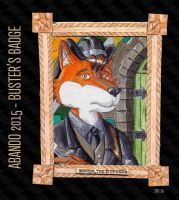 Buster's badge for Abando 2015 by HweiChow