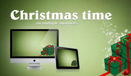 Christmas time Wallpaper by Tyzyano