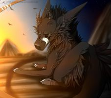Look the sunrise with me! [AT] by RaykaLNova