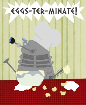 Cooking Dalek by whosname