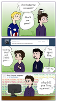 Bother Bruce Comics .7-9. by KigerwolfRD