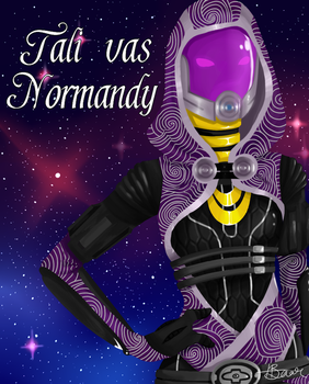 Tali vas Normandy by Snafufun
