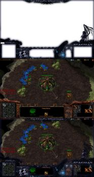 SC2 Stream Overlay by scorpioevil