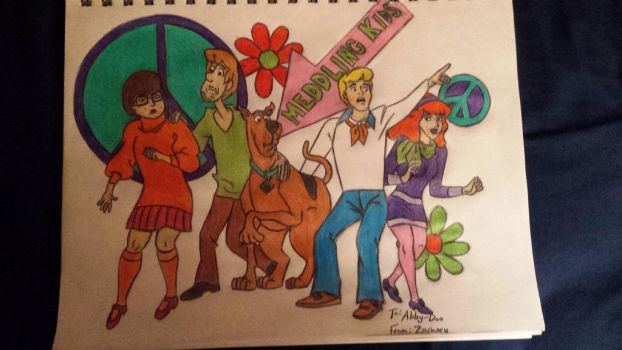 Scooby-Doo and the Gang by zacharydudley0219