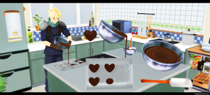 MMD acc: Chocolate making set by kaahgomedl