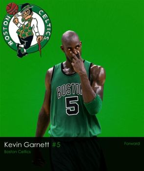 NBA Series: Kevin Garnett by LeBron6