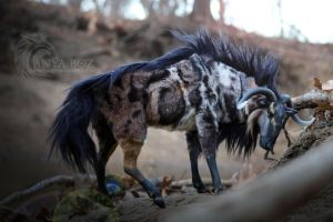 Marbled Wildebeest Room Guardian by AnyaBoz