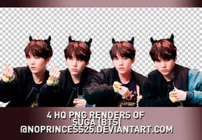 PNG PACK #129 | SUGA by NoPrincess25