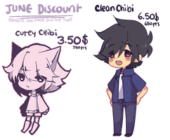 +3.50$ Special Chibis!! (CLOSED) by fleesveon