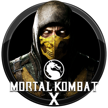 Mortal Kombat X Icon v1 by andonovmarko