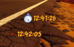 Crash Timer (animated) for xwidget by Jimking