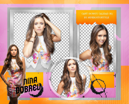 Png Pack 1020 // Nina Dobrev by confidentpngs