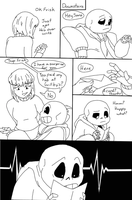 Unexpecting (Post-tale mini comic) by TrueWinterSpring