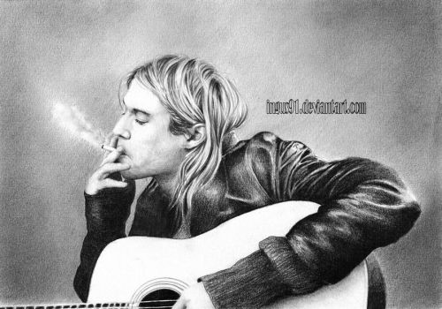Kurt Cobain by ingus91