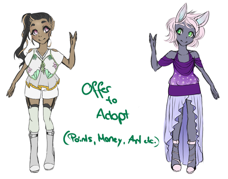 - Offer to Adopt - OPEN - by Monebibi