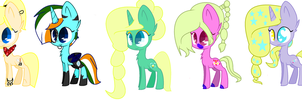 Sme Of My Ocs by SnowflakeCrystalYT