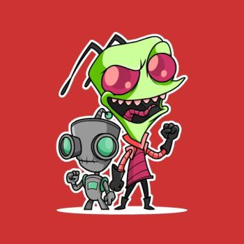 Invader Zim by cgianelloni