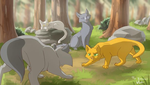 Thunderclan Training - [UNICEF COMM] For Simon by wanton-fox