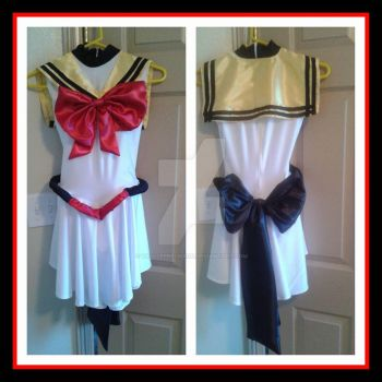 Space Ghost/Sailor Moon costume by TallLeprechaun