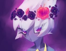 Flower crown for an emperor by madichams