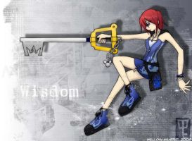 Kairi- Wisdom Form by mell0w-m1nded