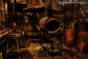 HDR - Milton - Burn Barrel by ellysdoghouse