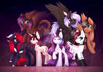 MLP Speedpainters by Scarlet-Spectrum