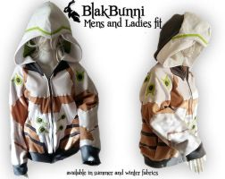 MADE TO ORDER - Genji inspired Overwatch hoodie co by BlakBunni