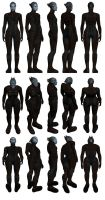 Mass Effect 2, Morinth - Model Reference. by Troodon80