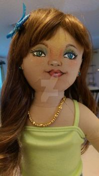 lazy day doll face up