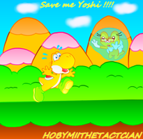 SAVE ME YOSHI !!!!! by HOBYGRENOUSSE