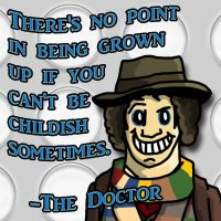 The fourth doctor by sacolin99
