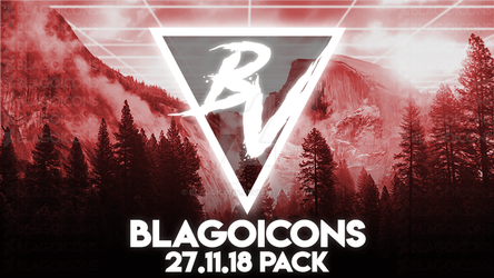 Blagoicons 27.11.18 Pack (1337 icons) by Blagoicons