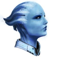 Liara T'Soni by rienquedesmoutons