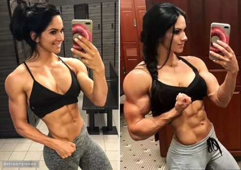 Aspen Rae Nice Muscularity by Turbo99