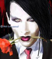 Marilyn Manson by mel-lyks-cereal