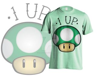 1UP Shirt by EmersonWolfe