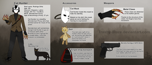 [SlenderVerse OC] Cat Hunter REF by Trashy-Blaze
