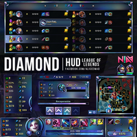 Diamond HUD - League of Legends by AliceeMad