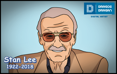 Stan Lee - Tribute by DraganD