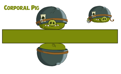 corporal pig toons template by bluejay5678 on deviantart