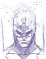 Blackbolt sketch by Mark-Clark-II