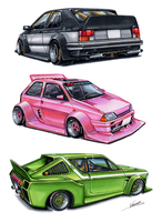 French Kaido Racers ! by vsdesign69